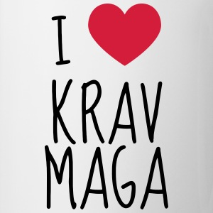 Krav Maga / Krav-Maga / Fight / Martial Art T-shirts - Kop/krus