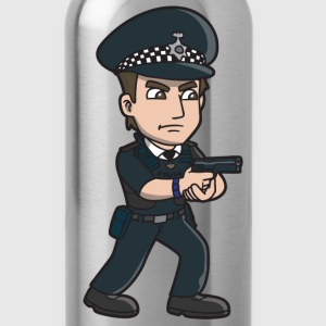 Police Officer - Water Bottle