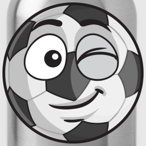 Football Face - Water Bottle