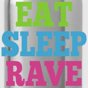 Eat Sleep Rave T-Shirts - Trinkflasche