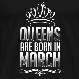 March - Queen - birthday - 3 - EN Sports wear - Men's Premium T-Shirt