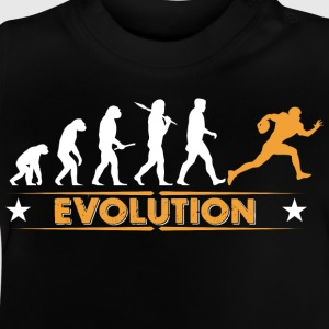 American Football - Evolution orange/weiss Shirts - Baby T-shirt