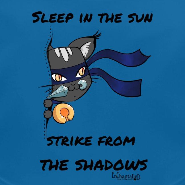 Women's T-Shirt: Ninja cat