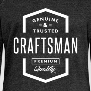 Craftsman - Women's Boat Neck Long Sleeve Top