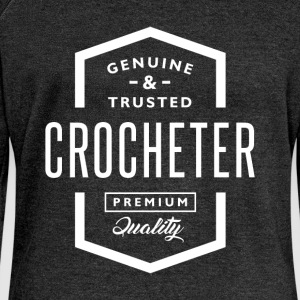 Croacheter - Women's Boat Neck Long Sleeve Top