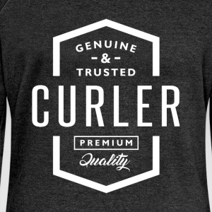 Curler - Women's Boat Neck Long Sleeve Top