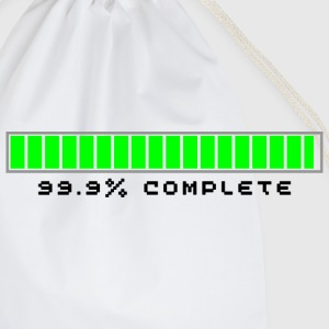 99.9% Download Complete - Drawstring Bag