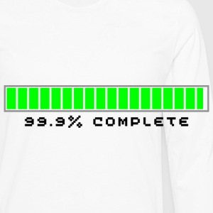 99.9% Download Complete - Men's Premium Longsleeve Shirt