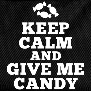 keep calm give me candy T-Shirts - Kinder Rucksack