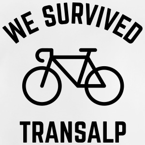 We Survived Transalp (Alps / Racing Bike) Shirts - Baby T-Shirt