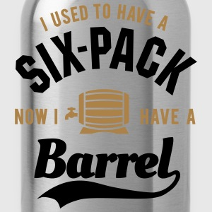 I used to have a six-pack now I have a barrel Koszulki - Bidon