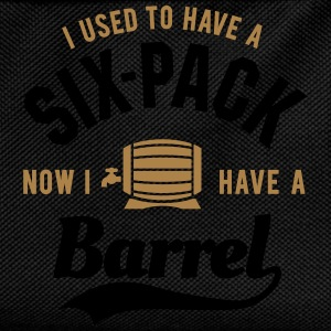 I used to have a six-pack now I have a barrel Magliette - Zaino per bambini