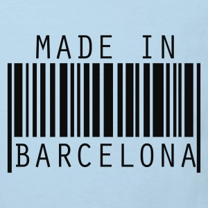 Rojo Made in Barcelona Baby Body - Camiseta ecológica niño