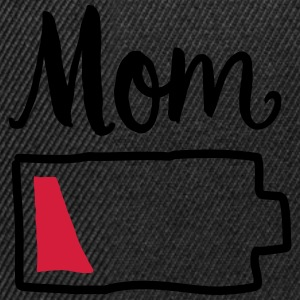 Tired Mom | Low Battery Symbol T-shirts - Snapback cap
