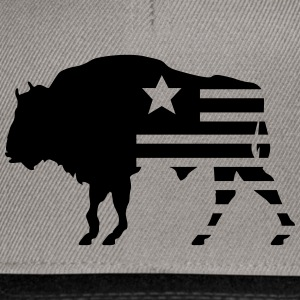 bison texas T-Shirts - Snapback Cap