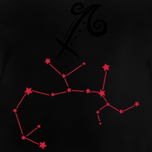 Astrological zodiac, sagittarius, with stars. - Baby T-Shirt