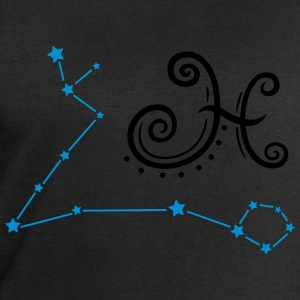Astrological zodiac, pisces, with stars. - Men's Sweatshirt by Stanley & Stella