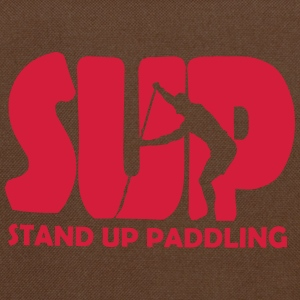 Stand Up Paddling Silouette T-Shirts - Umhängetasche