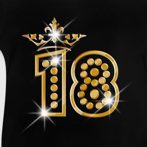 18 - Birthday - Queen - Gold - Burlesque Shirts - Baby T-Shirt