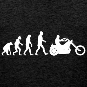 Biker Evolution Chopper T-Shirts - Männer Premium Tank Top