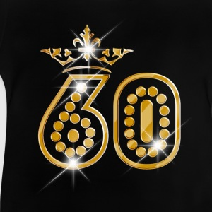 60 - Birthday - Queen - Gold - Burlesque Langarmshirts - Baby T-Shirt