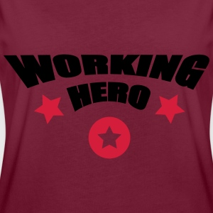 Working Hero - Frauen Oversize T-Shirt