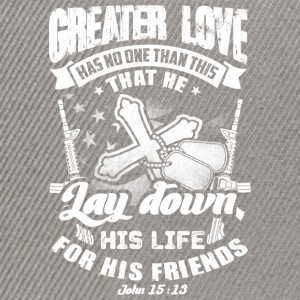 Greater love  T-Shirts - Snapback Cap