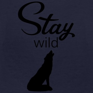 stay_wild Sweat-shirts - T-shirt bio Homme