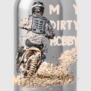 my dirty hobby mx Pullover & Hoodies - Trinkflasche