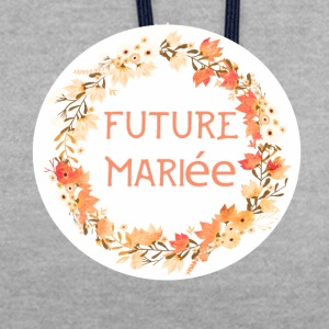 future_mariee_3 Tee shirts - Sweat-shirt contraste