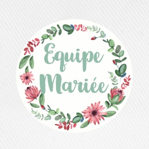 equipe_mariee_6 Tee shirts - Casquette classique