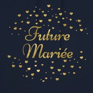 future_mariee_4 Tee shirts - Sweat-shirt à capuche unisexe