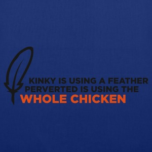 Kinky Feather 1 (ENG, 2c) - Tas van stof