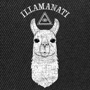 Illamanati | Cool Llama Design with Triangle Toppar - Snapbackkeps