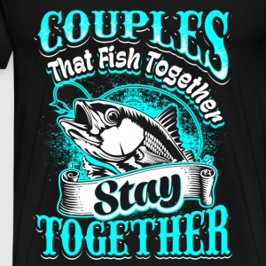 Couples - fishing - EN Hoodies & Sweatshirts - Men's Premium T-Shirt