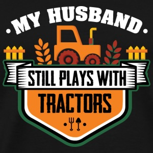 Farmer Play with Tractors Bags & Backpacks - Men's Premium T-Shirt