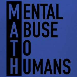 MATH | Mental Abuse To Humans T-shirts - Kinderen trui Premium met capuchon