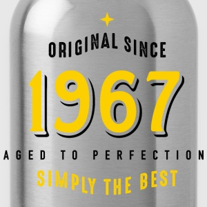 original since 1967 simply the best 50. Geburtstag - Trinkflasche