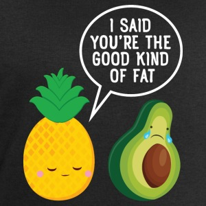 Cute Pineapple & Avocado | You're The Good Fat... Sports wear - Men's Sweatshirt by Stanley & Stella