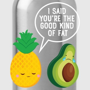 Cute Pineapple & Avocado | You're The Good Fat... Ropa deportiva - Cantimplora
