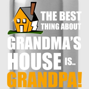 best grandpa house T-Shirts - Trinkflasche