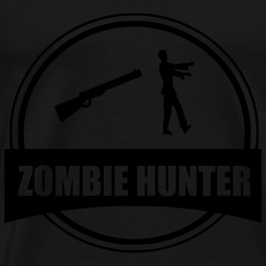 zombie hunter Hoodies & Sweatshirts - Men's Premium T-Shirt