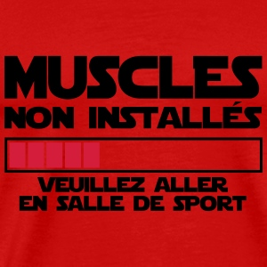MUSCLES NON INSTALLES 2 Vêtements de sport - T-shirt Premium Homme
