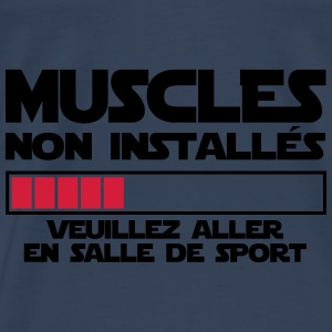 MUSCLES NON INSTALLES 2 Sweat-shirts - T-shirt Premium Homme