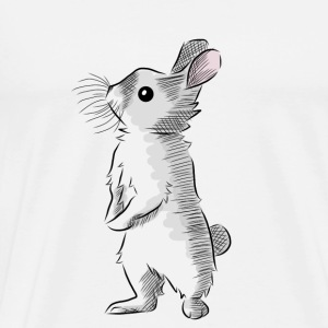 Baby vest with Bunny design - Men's Premium T-Shirt