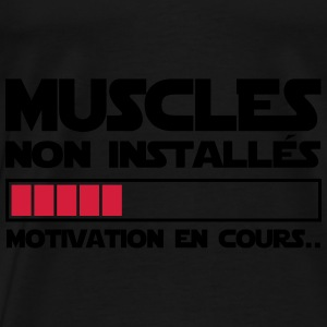 motivation en cours Sweat-shirts - T-shirt Premium Homme