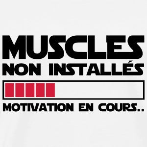 motivation en cours Vêtements de sport - T-shirt Premium Homme
