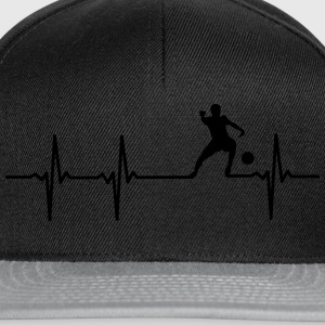 Voetballers hart T-Shirts - Snapback cap