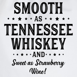 Smooth as Tennessee Whiskey T-Shirts - Drawstring Bag