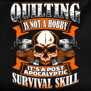 Quilting Is Not A Hobby - Quilting - EN Langarmshirts - Kinder Rucksack